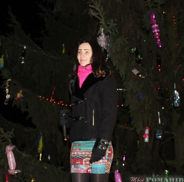 відкриття ялинки в Мирополі.Фото Петра Клименка